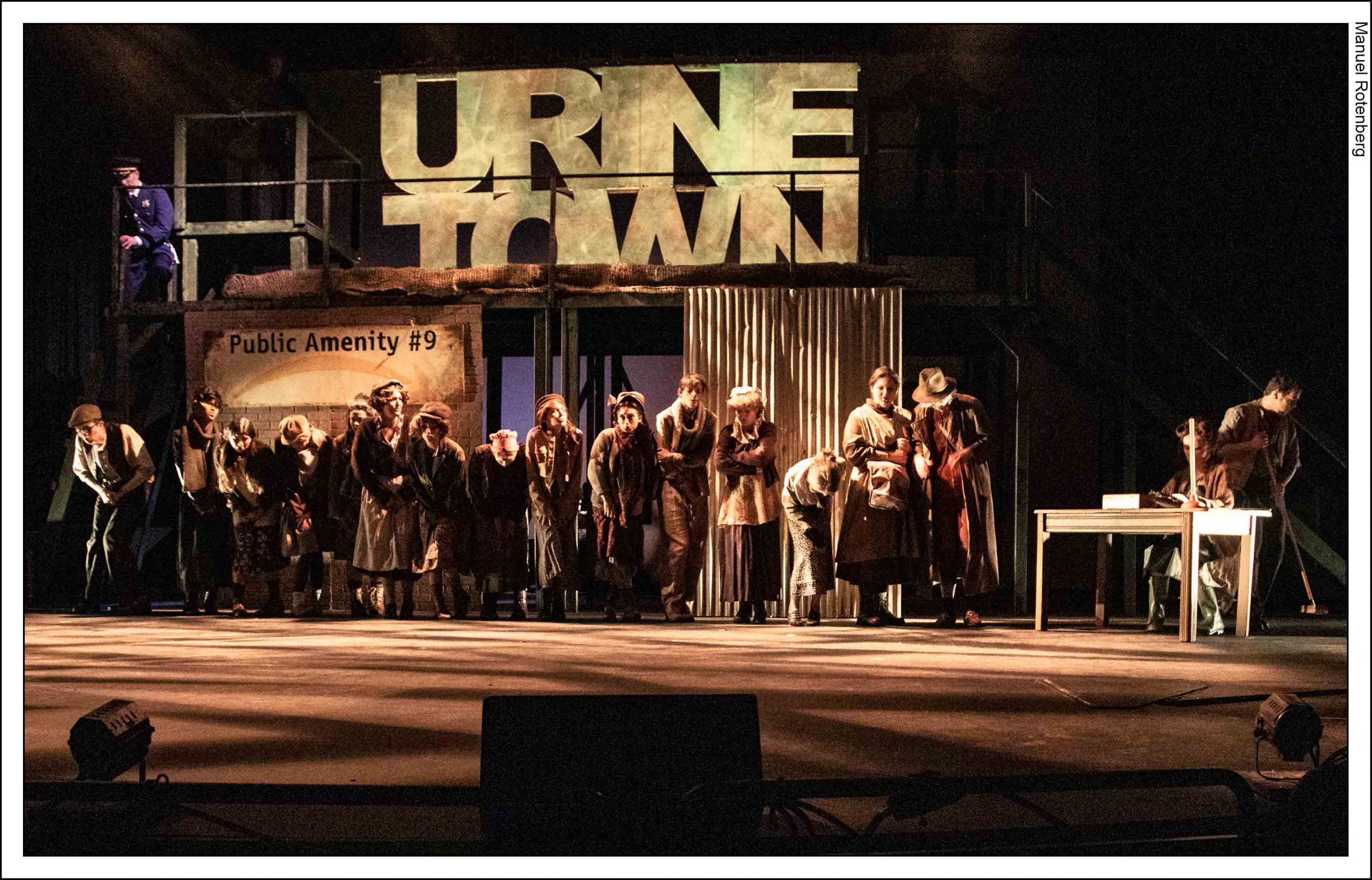 CoSA Urinetown production