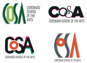 Four CoSA Logo Contenders